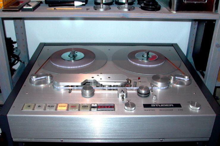 Die Audio-Elektronik der Studer A80 ist diskret aufgebaut. Vielleicht ist das der Grund dafür, dass sie noch ein wenig einschmeichelnder klingt als die A820